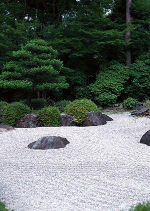 Karesansui…Dry landscape Japanese garden…